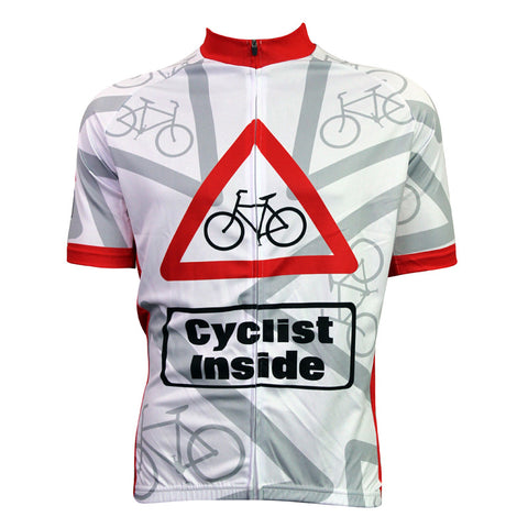 New Cyclist Inside  Cycling Jersey