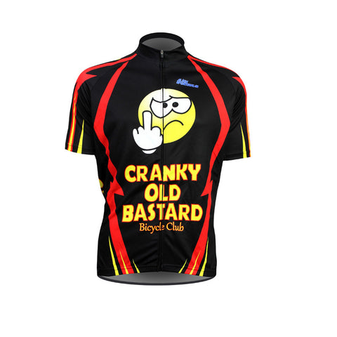 New Cranky Old Bastard  Mens Cycling Jersey