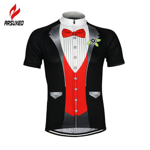 Men Cycling Jersey Bike Bicycle Short Sleeves Jersey