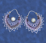 Aphrodite Hoop Earrings EARN9 - Mishu Boutique