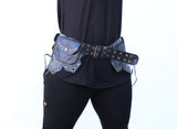 Bat Girl Leather Belt