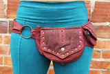 2-Pocket Crochet Belt - Mishu Boutique