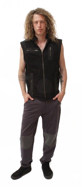 M07M Multipocket Vest - Mishu Boutique