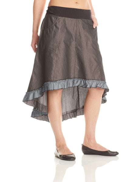M125 Denim Pocket Skirt - Mishu Boutique