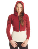 MR205 Crop Grommet Jacket - Mishu Boutique