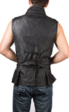 MR37 Denim Steampunk Vest - Mishu Boutique