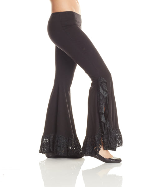 Ruffle Tribal Dance Pant