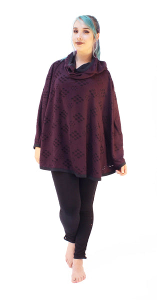 MR601 Oracle Poncho - Mishu Boutique