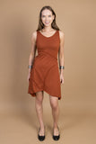 M109 Tie Dress - Mishu Boutique