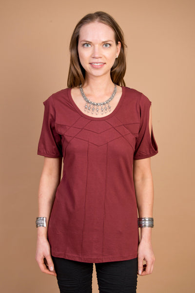 Isabella Tee MR515 - Mishu Boutique