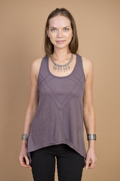 MR516 Diamond Tank - Mishu Boutique