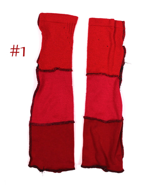 Red Arm Warmers - Tayissa