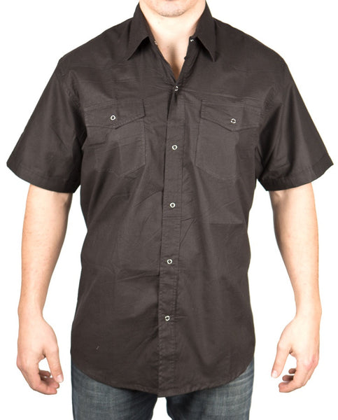 MR418 Retro Snap Shirt - Mishu Boutique