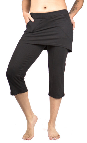 54297f6596ad6 M167 Skirted Yoga Pants - Mishu Boutique