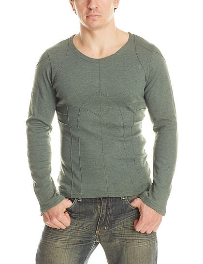 MR415-S Long Sleeve Pintex Shirt - Mishu Boutique