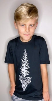 Mandala Tree Kids/Youth Tee * 100% Made, designed and printed in Canada