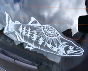 Salmon Car Decal