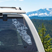 Vancouver Island car Decal