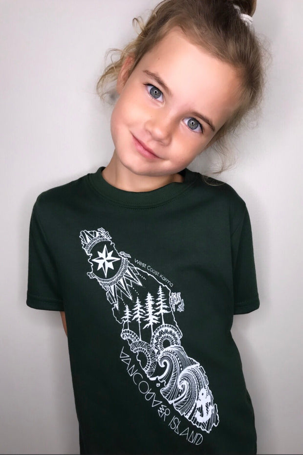 Vancouver Island Kids/Youth Tee