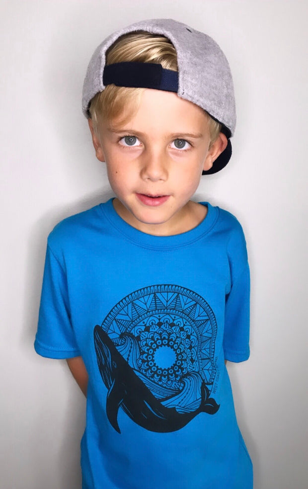 Whale Mandala Kids/Youth Tee