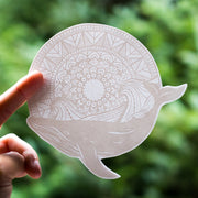 Mandala Whale Sticker - West Coast Karma