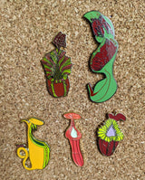 Nepenthes lowii *COLLECTIBLE HARD ENAMEL PIN*