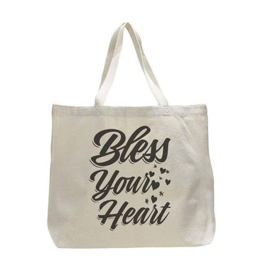 Bless Your Heart - Trendy Natural Canvas Bag - Funny and Unique - Tote Bag  Womens Tank Tops