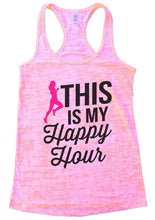 THIS IS MY Happpy Hour Burnout Tank Top By Womens Tank Tops Small Womens Tank Tops Light Pink