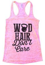 WOD HAIR Don't Care Burnout Tank Top By Womens Tank Tops Small Womens Tank Tops Light Pink