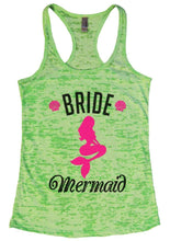 BRIDE Mermaid Burnout Tank Top By Womens Tank Tops Small Womens Tank Tops Neon Green