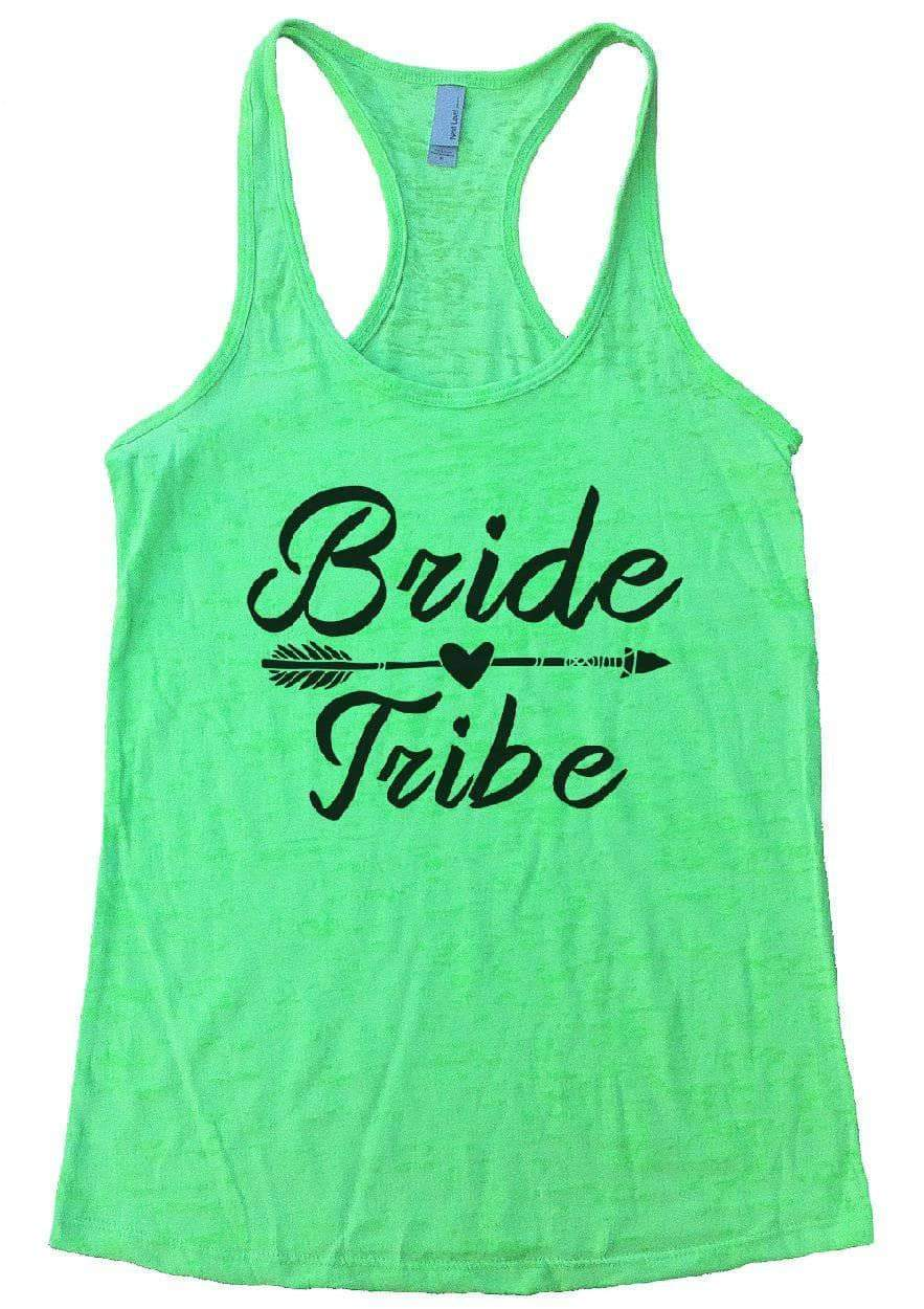 4152a418 ... Bride Tribe Burnout Tank Top By Womens Tank Tops Small Womens Tank Tops  Neon Green ...