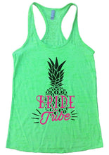 BRIDE Tribe Burnout Tank Top By Womens Tank Tops Small Womens Tank Tops Neon Green