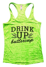 DRINK UP Buttercup Burnout Tank Top By Womens Tank Tops Small Womens Tank Tops Neon Green
