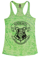 HOGWARTS Burnout Tank Top By Womens Tank Tops Small Womens Tank Tops Neon Green