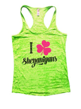 I Shenanigans Burnout Tank Top By Womens Tank Tops Small Womens Tank Tops Neon Green