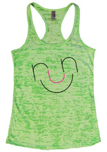 RUN Burnout Tank Top By Womens Tank Tops Small Womens Tank Tops Neon Green