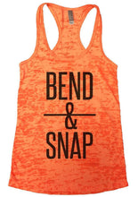 BEND & SNAP Burnout Tank Top By Womens Tank Tops Small Womens Tank Tops Neon Orange