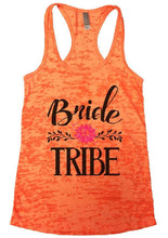 Bride TRIBE Burnout Tank Top By Womens Tank Tops Small Womens Tank Tops Neon Orange