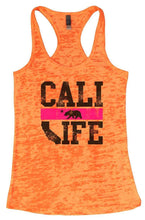 CALI LIFE Burnout Tank Top By Womens Tank Tops Small Womens Tank Tops Neon Orange