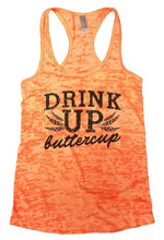 DRINK UP Buttercup Burnout Tank Top By Womens Tank Tops Small Womens Tank Tops Neon Orange