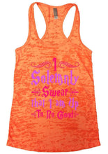 I Solemnly Swear That I Am Up To No Good Burnout Tank Top By Womens Tank Tops Small Womens Tank Tops Neon Orange