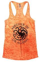 Mother Of Dragons Tank Top By WomensTankTops Small Womens Tank Tops Neon Orange