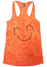 RUN Burnout Tank Top By Womens Tank Tops Small Womens Tank Tops Neon Orange