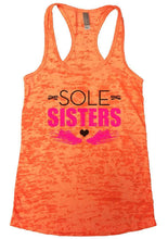 SOLE SISTERS Burnout Tank Top By Womens Tank Tops Small Womens Tank Tops Neon Orange