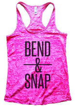 BEND & SNAP Burnout Tank Top By Womens Tank Tops Small Womens Tank Tops Shocking Pink