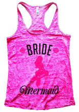 BRIDE Mermaid Burnout Tank Top By Womens Tank Tops Small Womens Tank Tops Shocking Pink