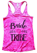 Bride TRIBE Burnout Tank Top By Womens Tank Tops Small Womens Tank Tops Shocking Pink