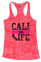 CALI LIFE Burnout Tank Top By Womens Tank Tops Small Womens Tank Tops Shocking Pink
