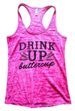 DRINK UP Buttercup Burnout Tank Top By Womens Tank Tops Small Womens Tank Tops Shocking Pink