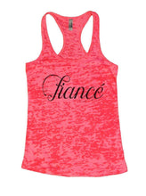 Fiance Burnout Tank Top By Womens Tank Tops Small Womens Tank Tops Shocking Pink